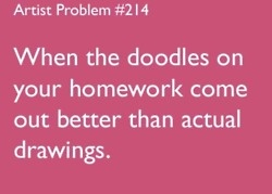 i do this in math and english:) or i draw sience lectures like by drawing out the steps in the big bang
