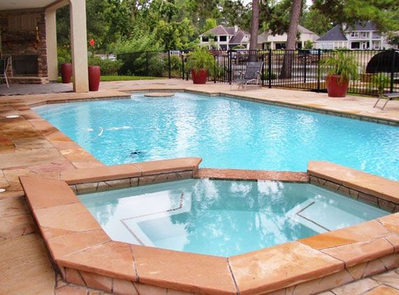 Outdoor pool designs that you would wish they were yours for Garden pool facebook