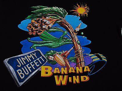 JIMMY BUFFETT Corona TShirt 90's Tour Concert 1996 Banana Wind PARROTHEADS