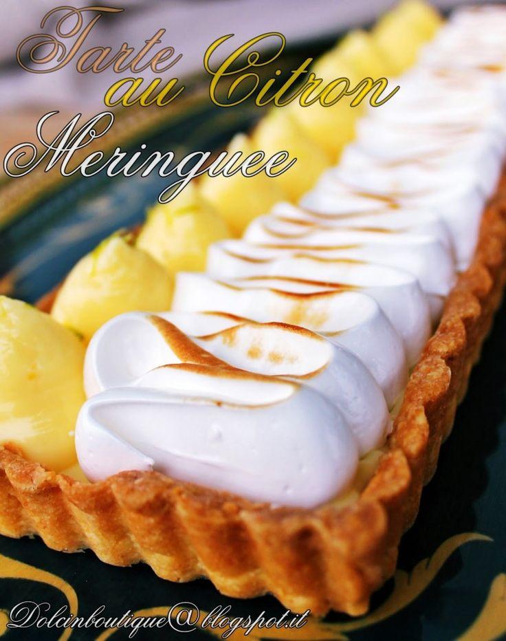 Il secondo compleanno della Boutique! e tarte citron meringuèe   Dolci in Boutique