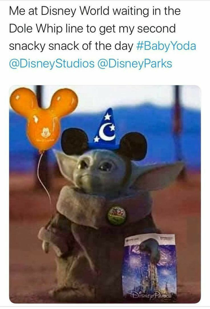 Pin By Sarah Burgun On Disney Yoda Funny Disney Fun Facts Yoda Meme