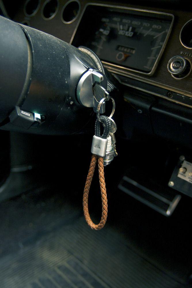 www.877workshop.com — Keychain strlw-edition braided leather sailing rope