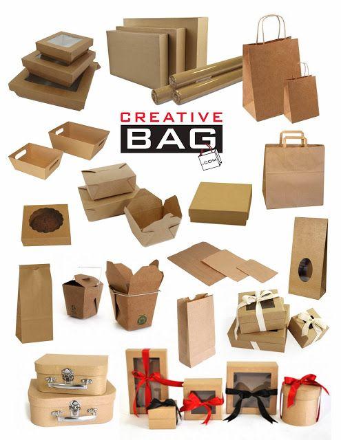 kraft packaging from Creative Bag