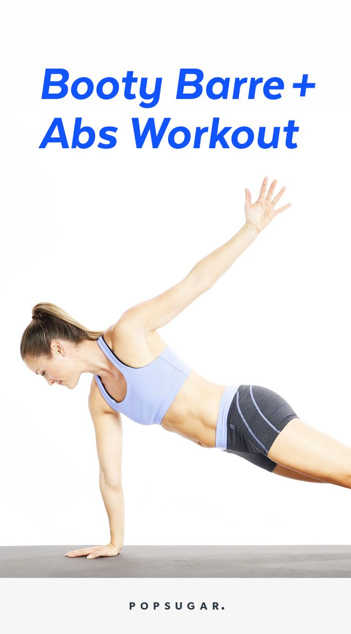 Mix Cardio Barre With a Concentrated Ab Workout