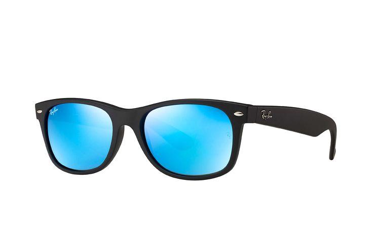 Mis gafas de sol Ray-Ban NEW WAYFARER AZUL FLASH