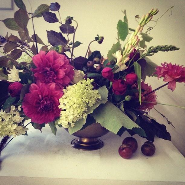 Today's arrangement! In Sydney Australia - @poppies_flowers- #webstagram