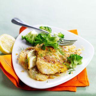 Filets de limande panés aux amandes