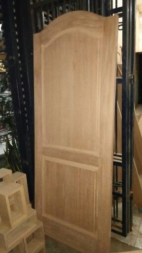Done!!! Kamper Samarinda wooden door