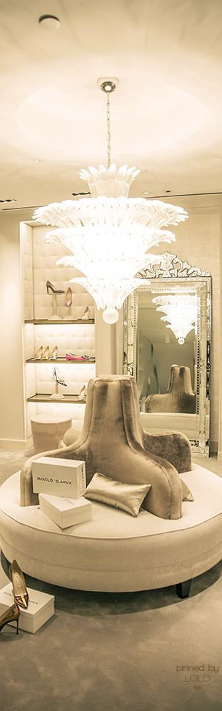 Manolo Blahnik boutique in Saks New York Flagship Store | LOLO