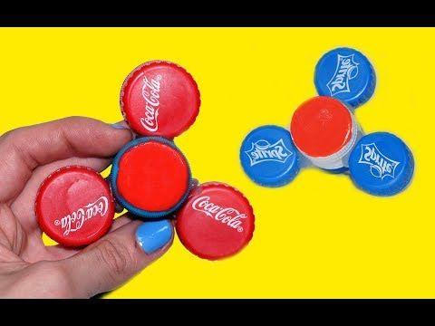 Fidget spinner / gør-det-selv / DIY / populært legetøj / glæd dine børn / kreativitet - YouTube