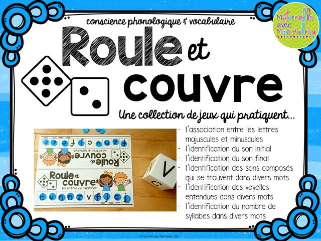 Maternelle avec Mme Andrea: Our first day in photos & a new game for…