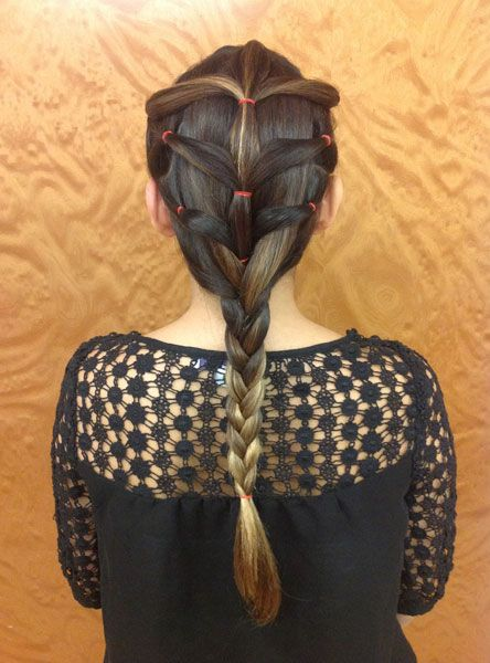 Try this take on a classic braid for a hairstyle that stays put throughout your workout: http://www.womenshealthmag.com/beauty/workout-hair?cm_mmc=Pinterest-_-WomensHealth-_-content-beauty-_-workouthair