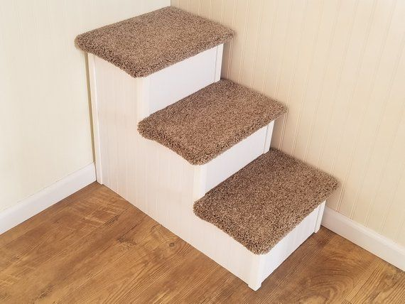 Tall Pet Stairs For Big Dogs For Pets 5 120 Lbs 24h Etsy Dog Stairs Pet Stairs Pet Steps