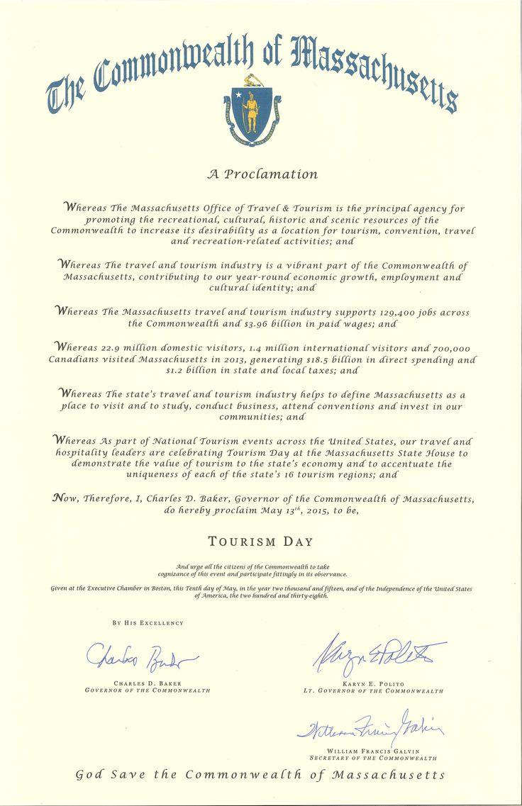 TOURISM DAY_2015_Proclamation