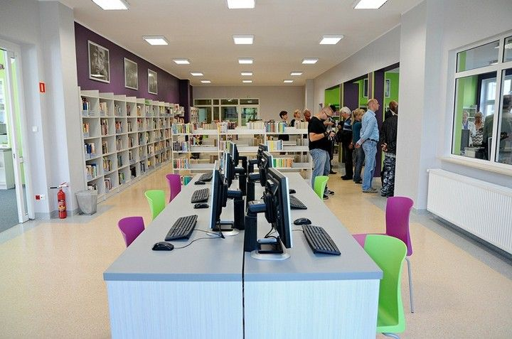 new library branch in Elbląg, Poland