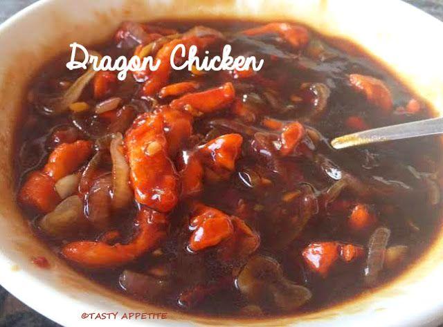 Tasty Appetite: DRAGON CHICKEN / HOW TO MAKE DRAGON CHICKEN / INDO...
