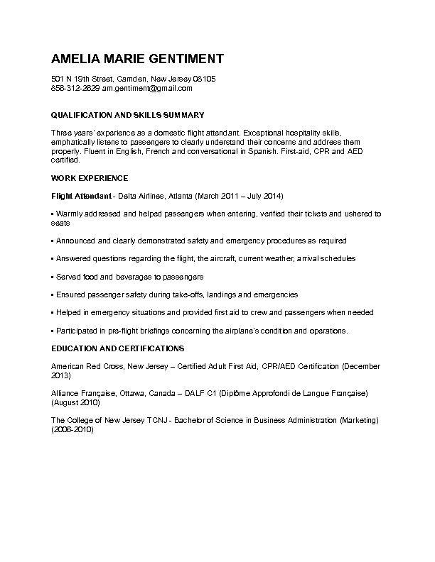 49 best Applying for Jobs images on Pinterest Career, Delta - sample flight attendant resume