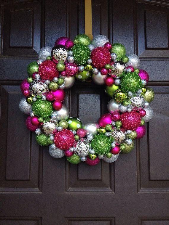 199 best Vintage Christmas Ball Wreaths images on Pinterest ...