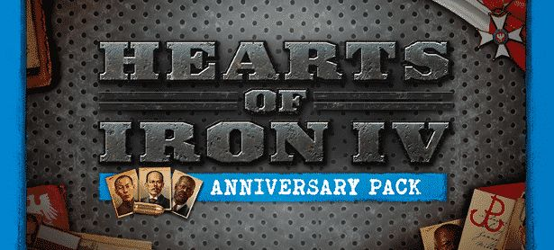 Hearts of Iron IV with a Free Anniversary Pack -  Since Paradox Interactive and Paradox Development Studio celebrate their one-year anniversary. Hence this is for the Hearts of Iron IV #release, the World War II Grand Strategy Game. Released to critical a