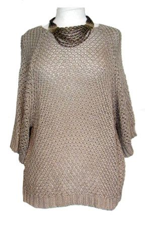 Cotton Knitted Jumper – Marie - S