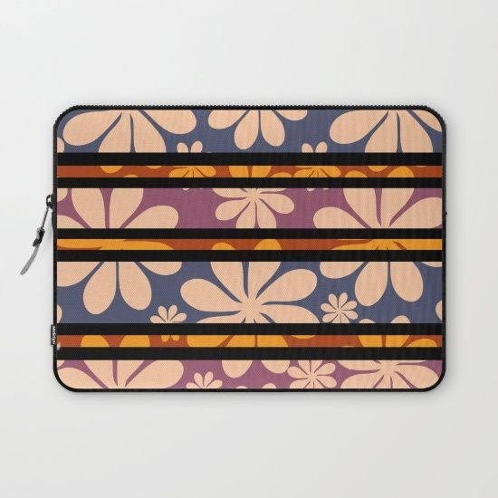 A floral sleeve, perfect for carrying your #laptop to #school, #college or #library