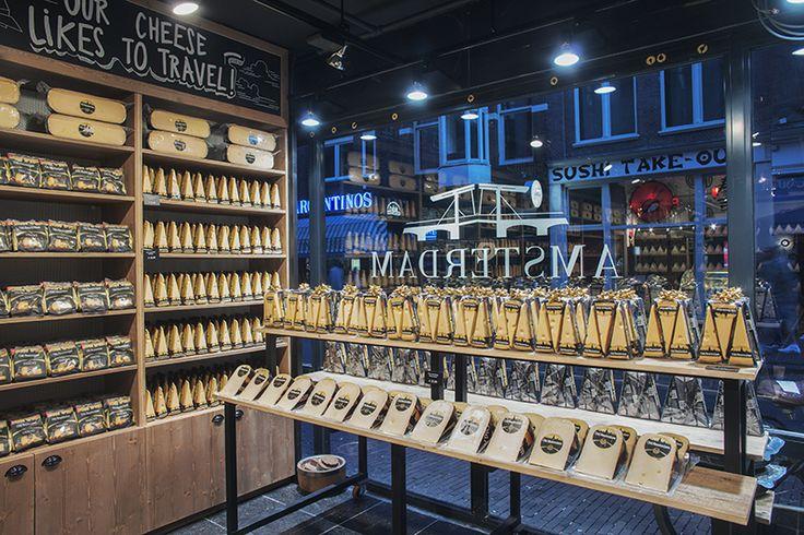 ©studiomfd, store, design, creative store, cheese, amsterdam, old amsterdam, window presentation, AMSTERDAM CHEESE STORE (www.studiomfd.com)