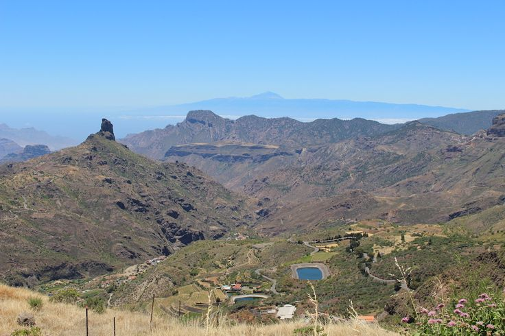 Mountain views in Gran Canaria.