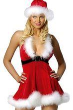 Plus size christmas pudding fancy dress