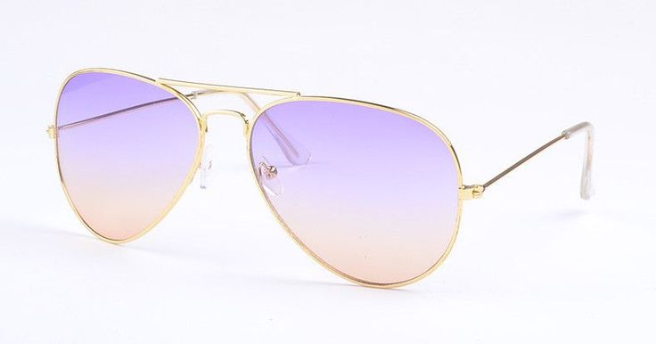 Women Glasses Pilot Sunglasses