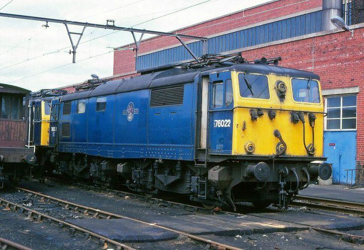 Class 76 76022 - Reddish Electric Depot.