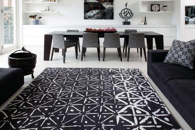 Batik, part of the Hirameki rug collection by Akira Isogawa for Designer Rugs.