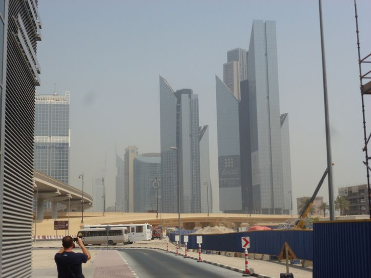 New Buildings close Burj Khalifa