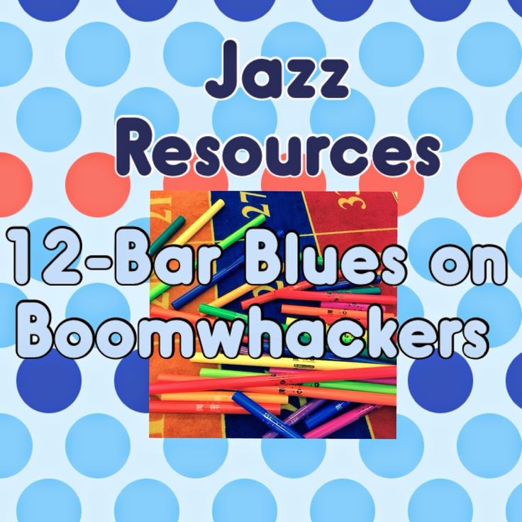 Learn Me Music: Jazz Month and International Jazz Day: Part Two - 12-Bar Blues Progression   Music and Technology in Education