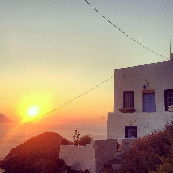 Sunset  milos