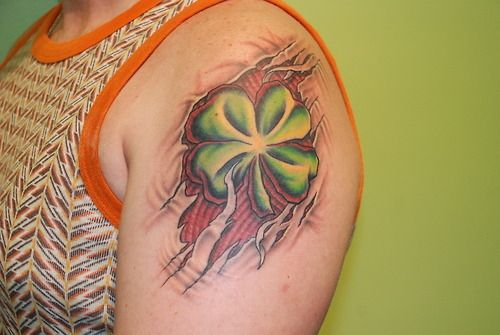 119 best images about irish tattoos on pinterest for Luck of the irish tattoos