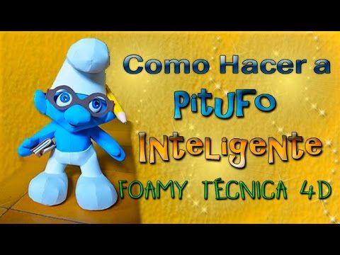 Pitufo Inteligente Fomy4d - YouTube