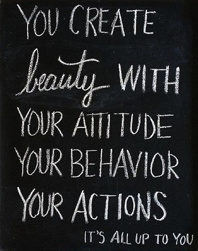 You create beauty with.. inspirational quote
