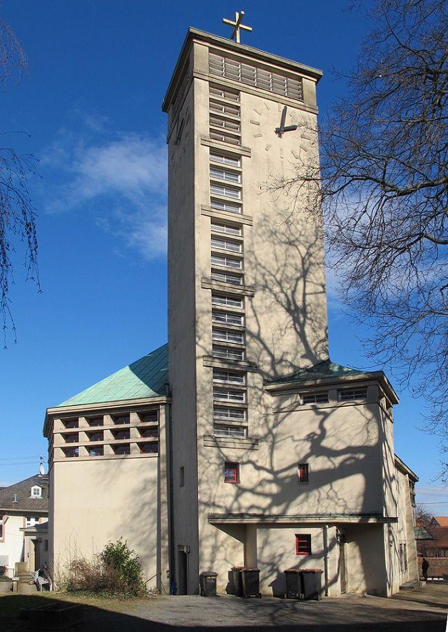 1928 Frankfurt Am Main Gustav Adolf Kirche Strasse Der