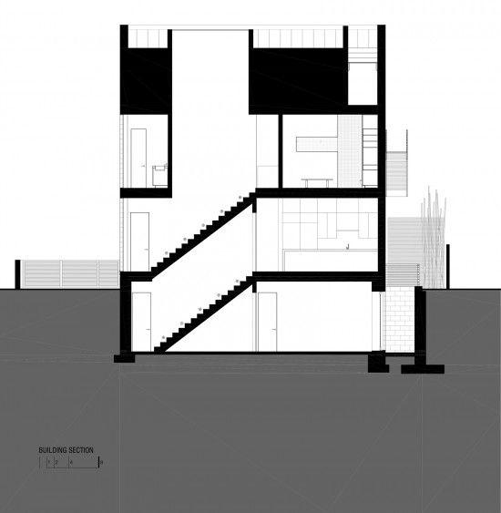 Hampden Lane House by Robert Gurney Architect - I Like Architecture