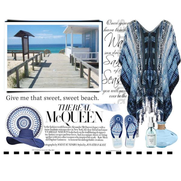 How To Wear Beach Day Outfit Idea 2017 - Fashion Trends Ready To Wear For Plus Size, Curvy Women Over 20, 30, 40, 50