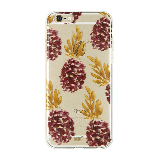Ananas iPhone 6/6S case by Nunuco Design Co. // #techaccessories #iphone6/6S #pineapple