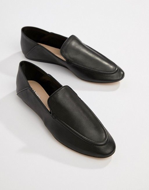 a2c6daaec6b5d Mango soft leather loafer in 2019 | shoes | Mango shoes, Leather ...