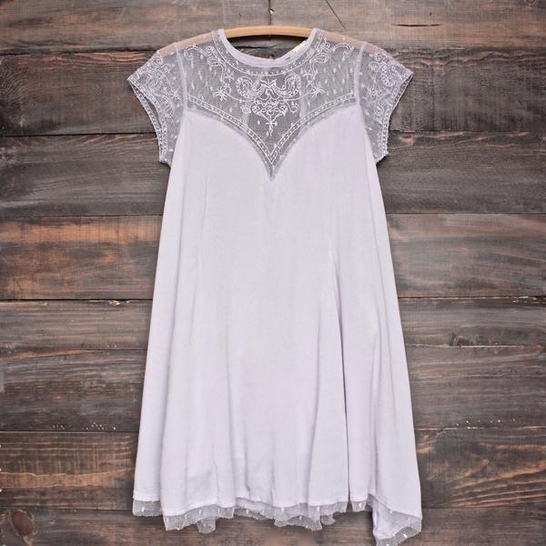 Embellished Trapeze Dress - more colors - shophearts - 1