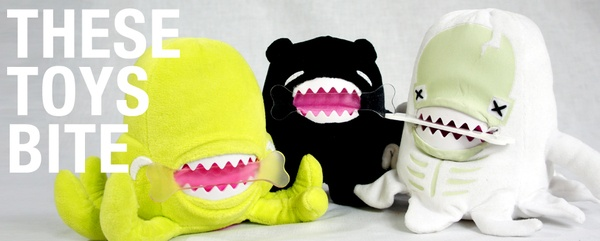The FluffyFriends™ Chompin' Plush Toys on Toy Design Served