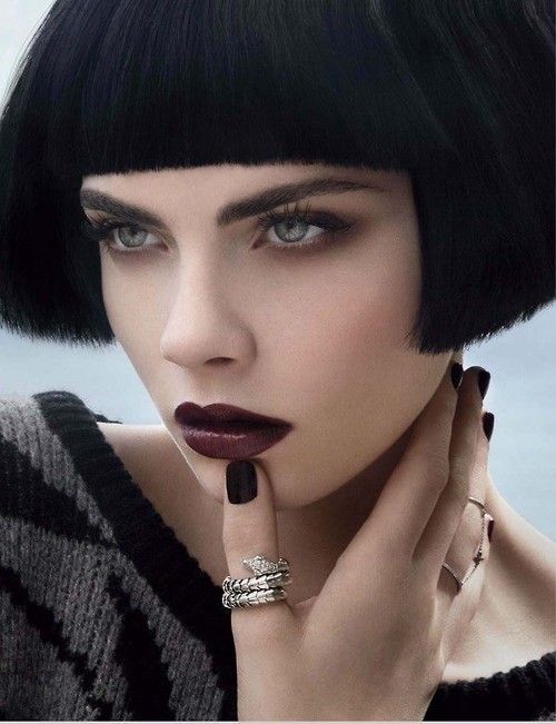Cara Delevingne Make up e hairstyle (Foto) | Stylosophy