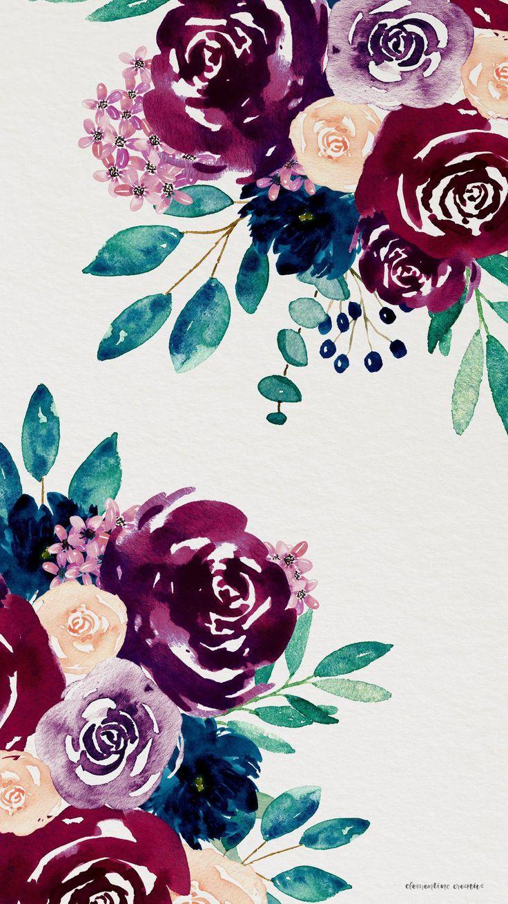 #flowerswallpaperiphone 736