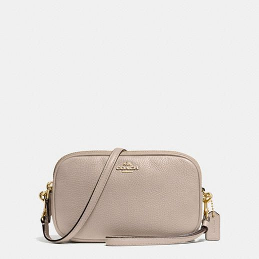VIDA Leather Statement Clutch - TAKE CONTROL LEATHER by VIDA
