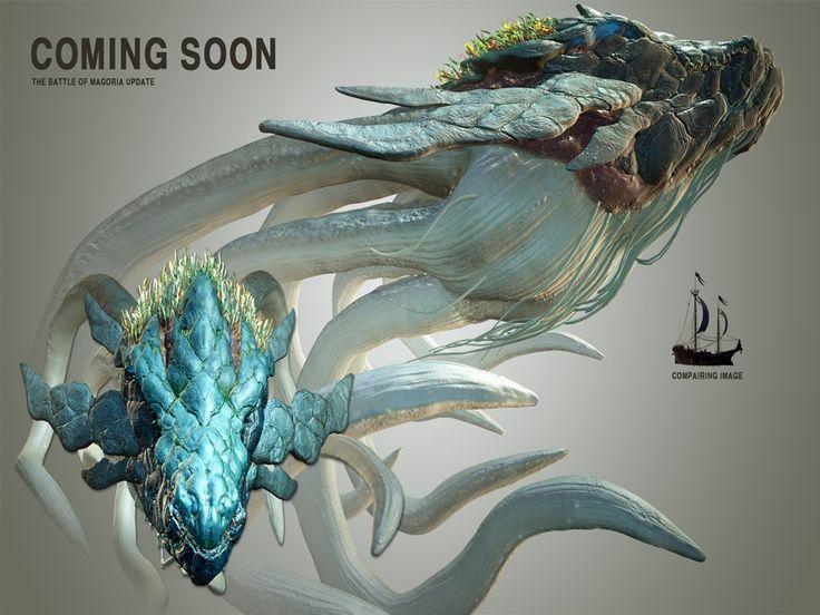 Концепт-арт новых нарядов для рейнджер, ведьма, Колдун, сливы и Берсерк на сервере KR! Я люблю все проекты, а что другие думают?