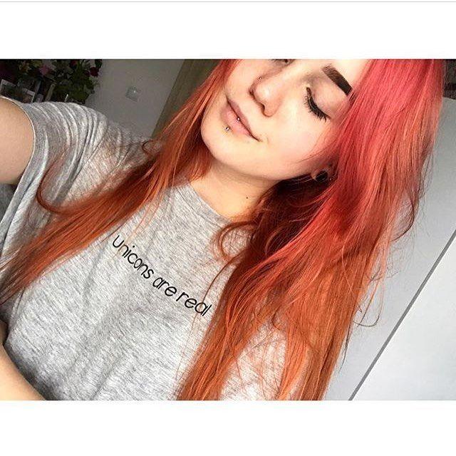 """Polubienia: 465, komentarze: 2 – rockmetalshop.pl (@rockmetalshop) na Instagramie: """"🛒link w profilu🛒 #Repost dzięki za fajne włosy @rockmetalshop 😈 #polishgirl #piercing #ginger…"""""""