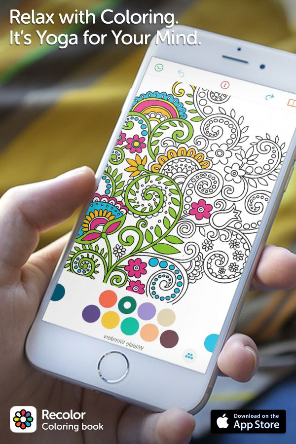recolor is the 1 coloring book on mobile join millions of people rediscovering the